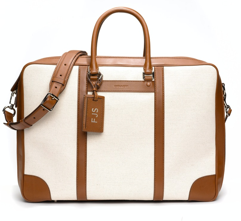 __For My Husband__      Whether he's traveling for work or taking a weekend trip with me, the man could use a new valise. Coach will monogram it while you wait.      $698, [coach.com](http://rstyle.me/n/dwuim3w3n)
