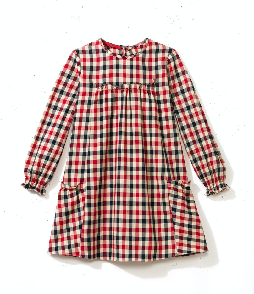 __For My Boss's Daughters__       A plaid dress that is almost as adorable as they are.       CH Carolina Herrera, $180, CH Carolina Herrera, Beverly Hills, 310.276.8900
