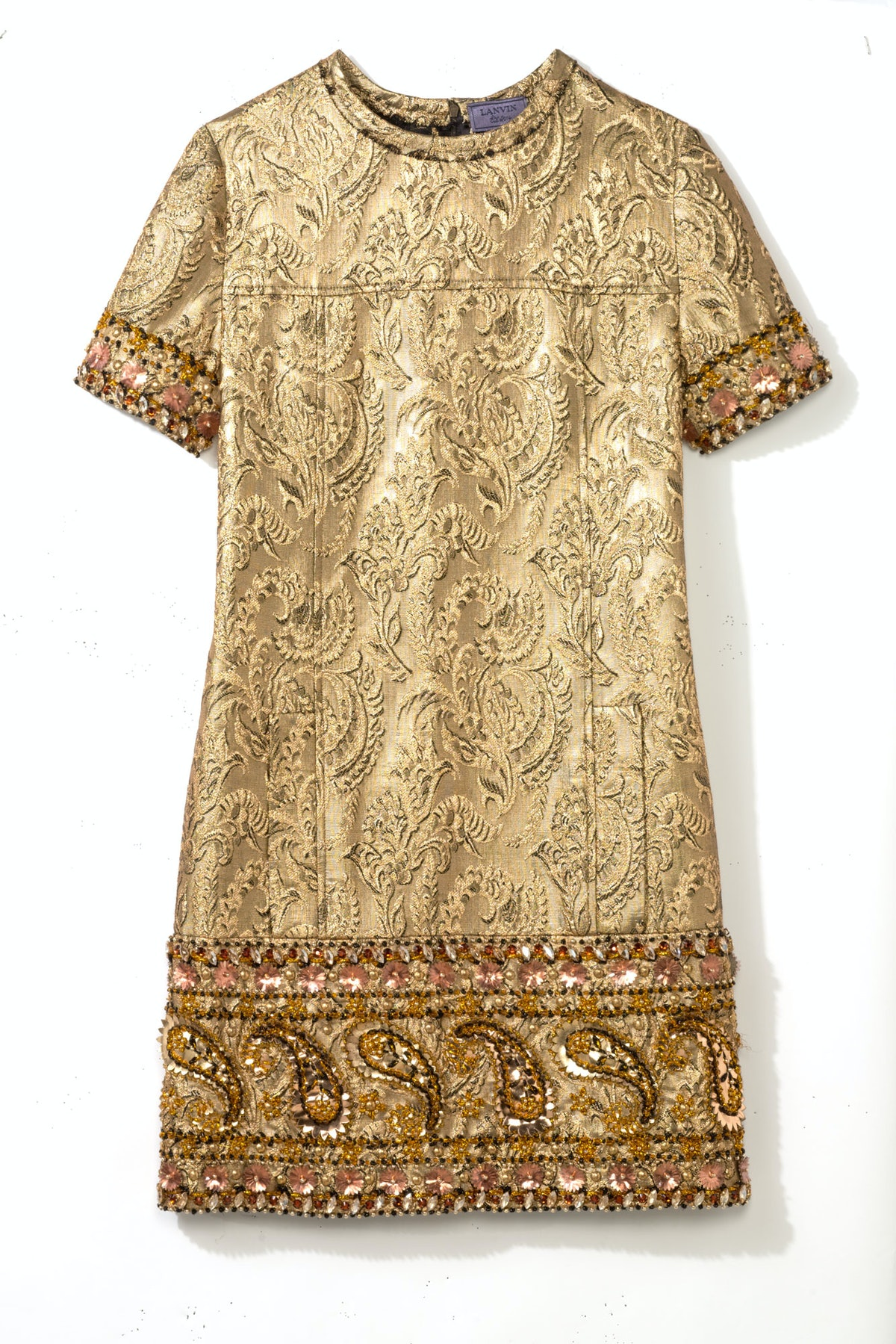 __For my older sister__       Forget the LBD; it's all about the little gold dress. I love this one—and so will she.       Lanvin, $7,585, Lanvin, New York, 646.439.0380