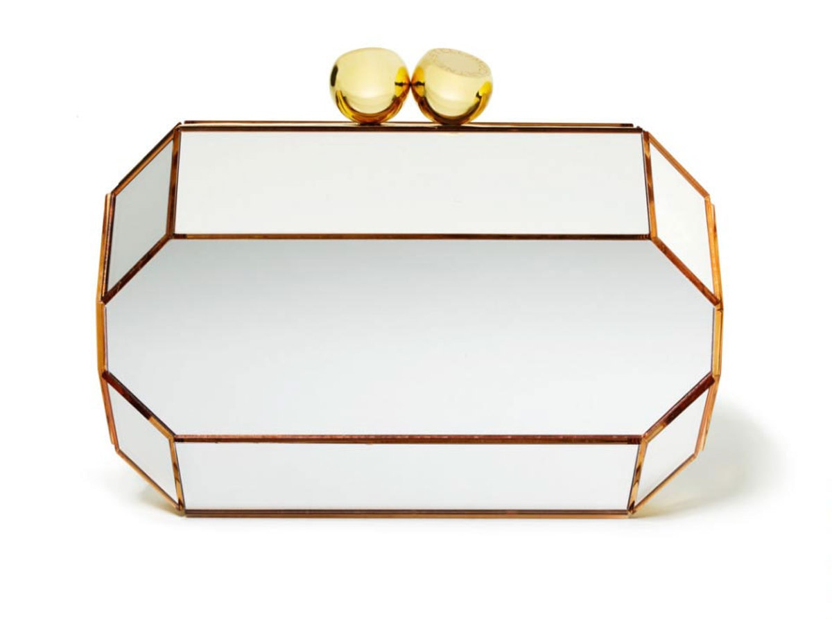 __For my sister-in-law__       It's hard to go wrong with a chic clutch.       Stella McCartney, $2,480, Stella McCartney, New York, 212.255.1556
