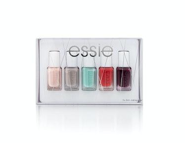 Essie Holiday Collection, $15, [essie.com](http://www.essie.com).