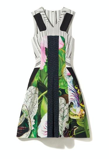 Peter Pilotto dress, $2,055, Saks Fifth Avenue, New York, 212.753.4000.