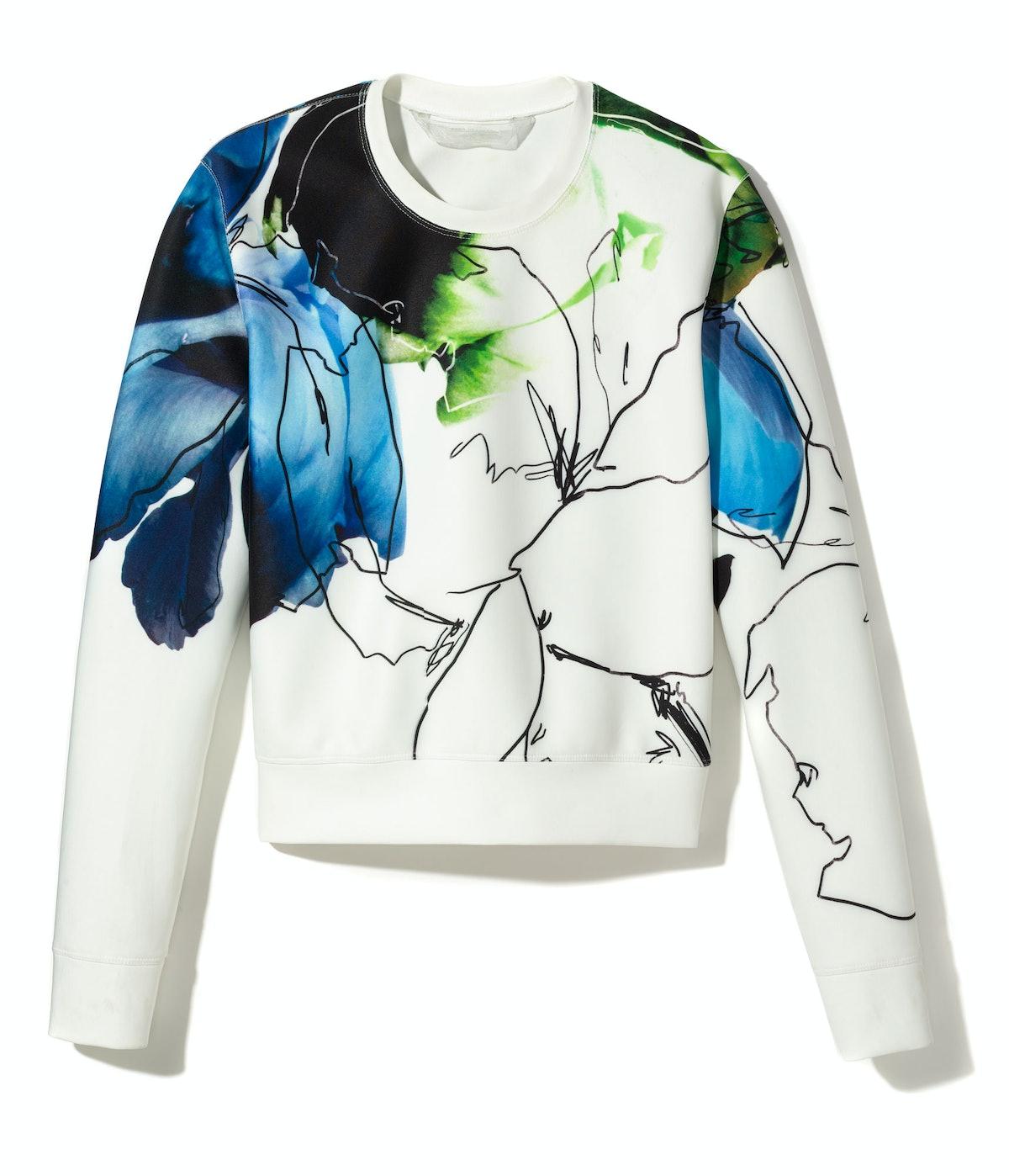 Reed Krakoff sweatshirt, $1,190, [reedkrakoff.com](http://www.reedkrakoff.com/online/handbags/USIndexView?storeId=16001&catalogId=16500&langId=-1).