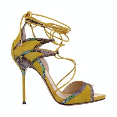 Alexandre Birman shoes, $895, Bergdorf Goodman, New York, 212.753.7300.