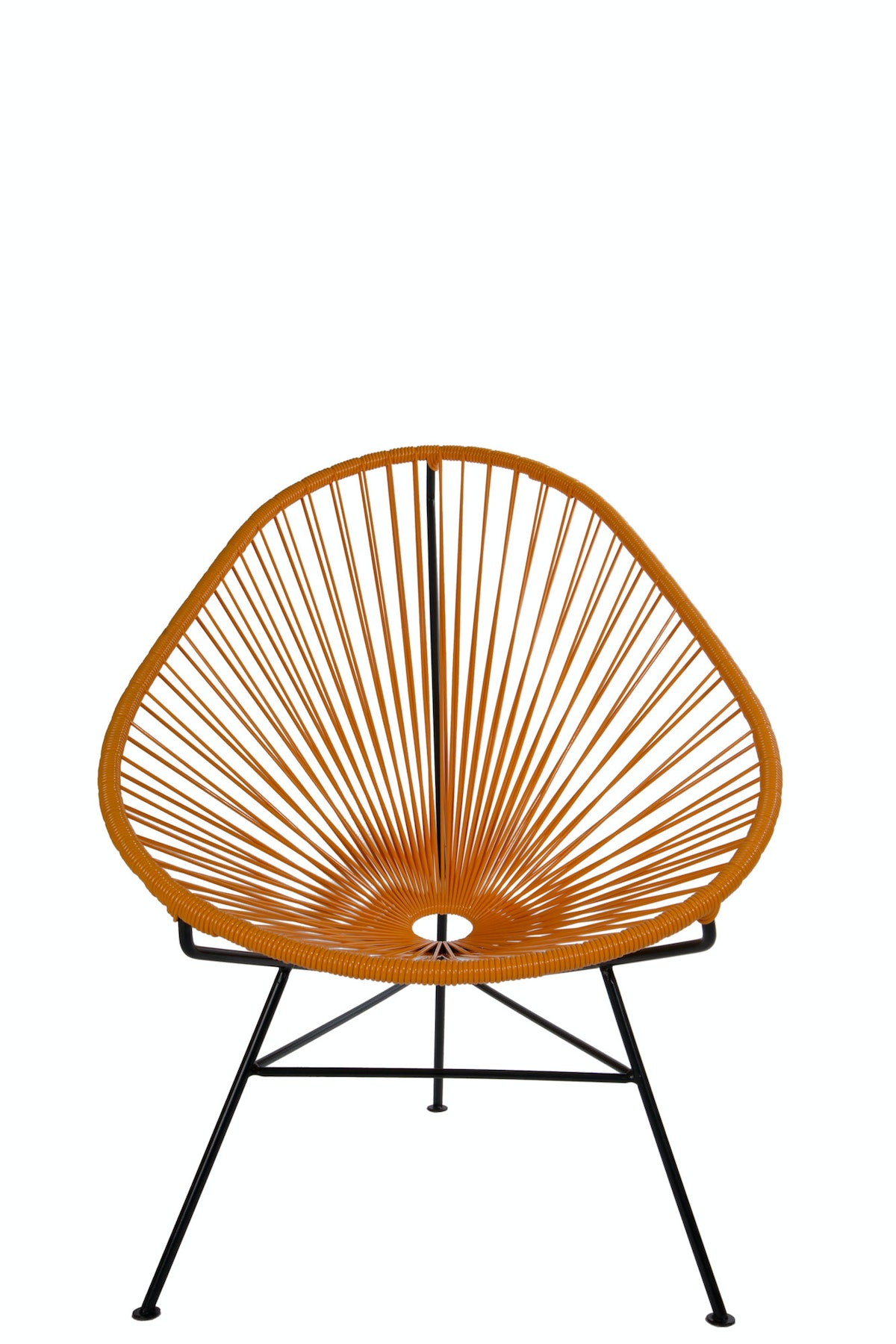 The Common Project chair, $299, [thecommonproject.net](http://thecommonproject.us/collections/frontpage/products/acapulco-lounge-chair-mustard).