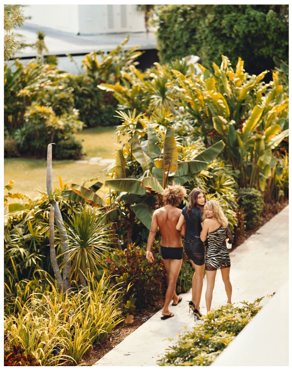 """Strolling along in July 2008's """"[Summer Camp](http://www.wmagazine.com/most-popular/3744761/ """"3744761""""),"""" shot by Bruce Weber and styled by Alex White."""