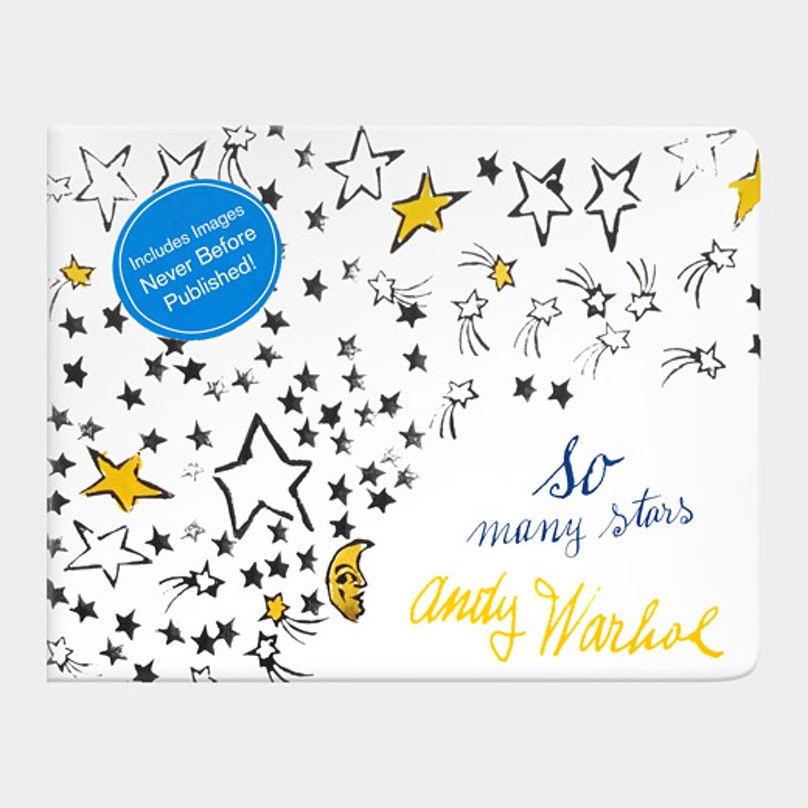 *Andy Warhol So Many Stars*, $12.99, [momastore.org](http://www.momastore.org/museum/moma/ProductDisplay_Andy%20Warhol%20So%20Many%20Stars_10451_10001_172064_-1_26698_11494_172125).