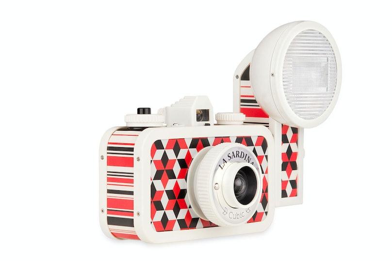 Lomography La Sardina Cubic Camera, $162, [alexandalexa.com](http://rstyle.me/n/dzatw3w3n).