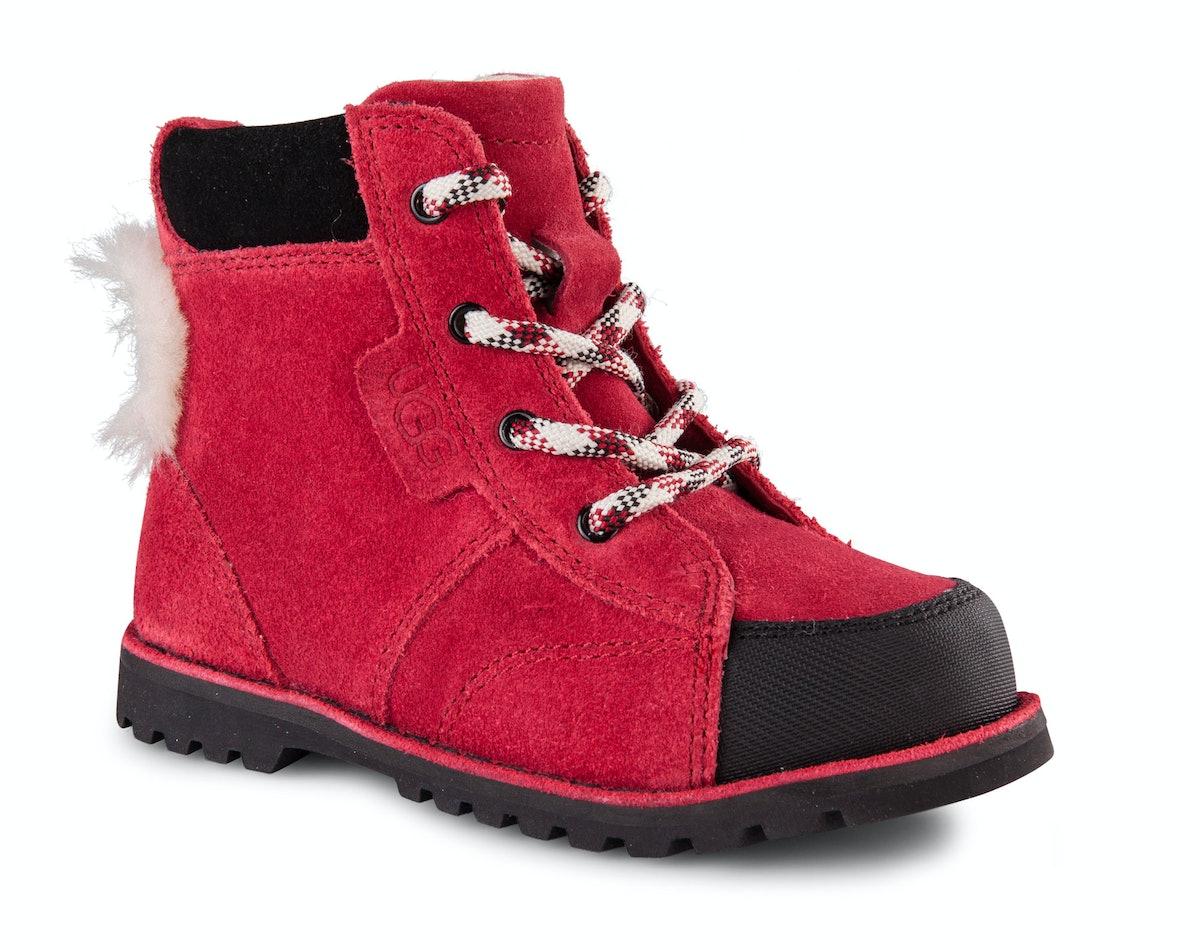 Ugg Australia boots, $70, [uggaustralia.com](http://www.uggaustralia.com/kids-little-kids-boots/).