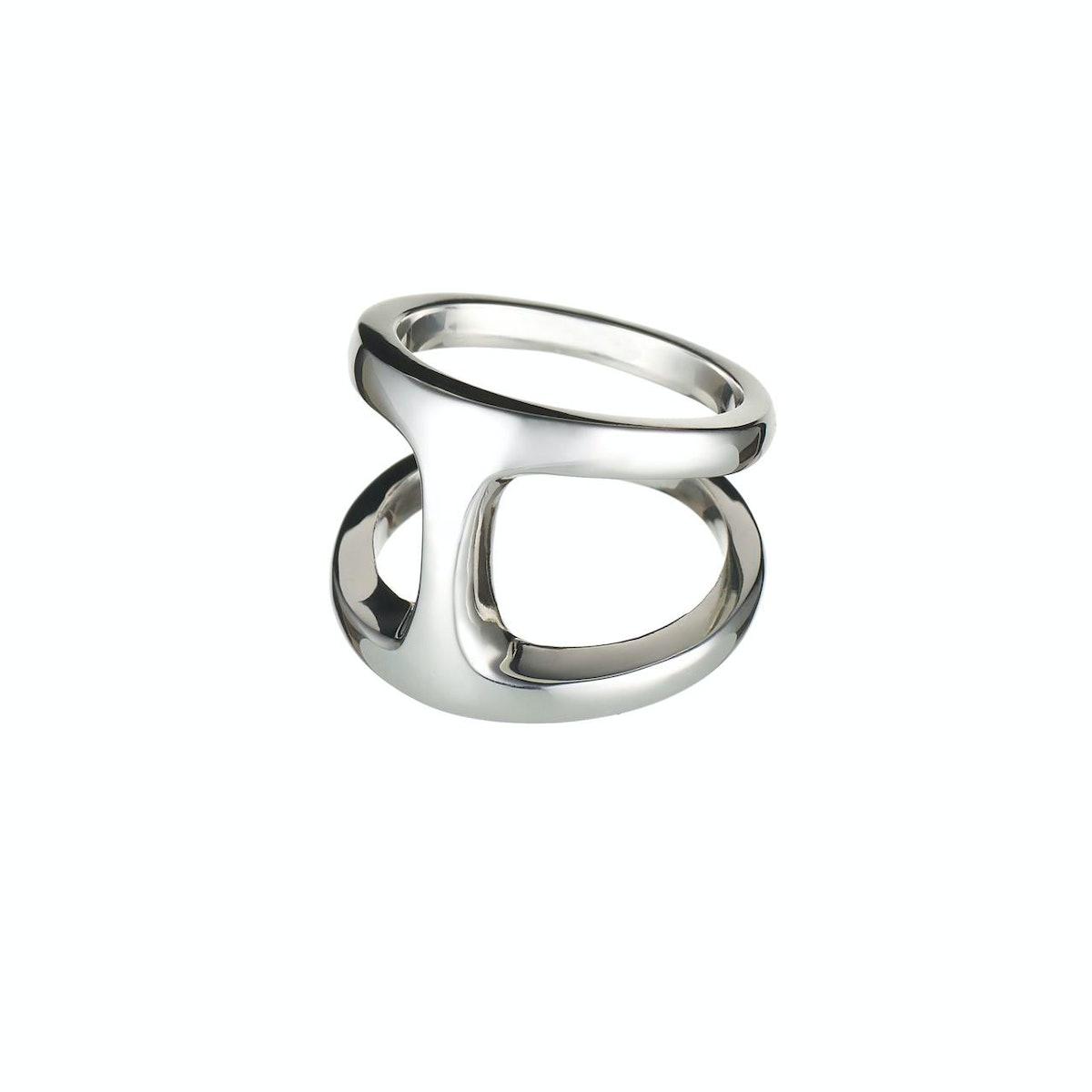 __For the tough girl:__ HOORSENBUHS sterling silver Dame Phantom ring, [barneys.com](http://www.barn...