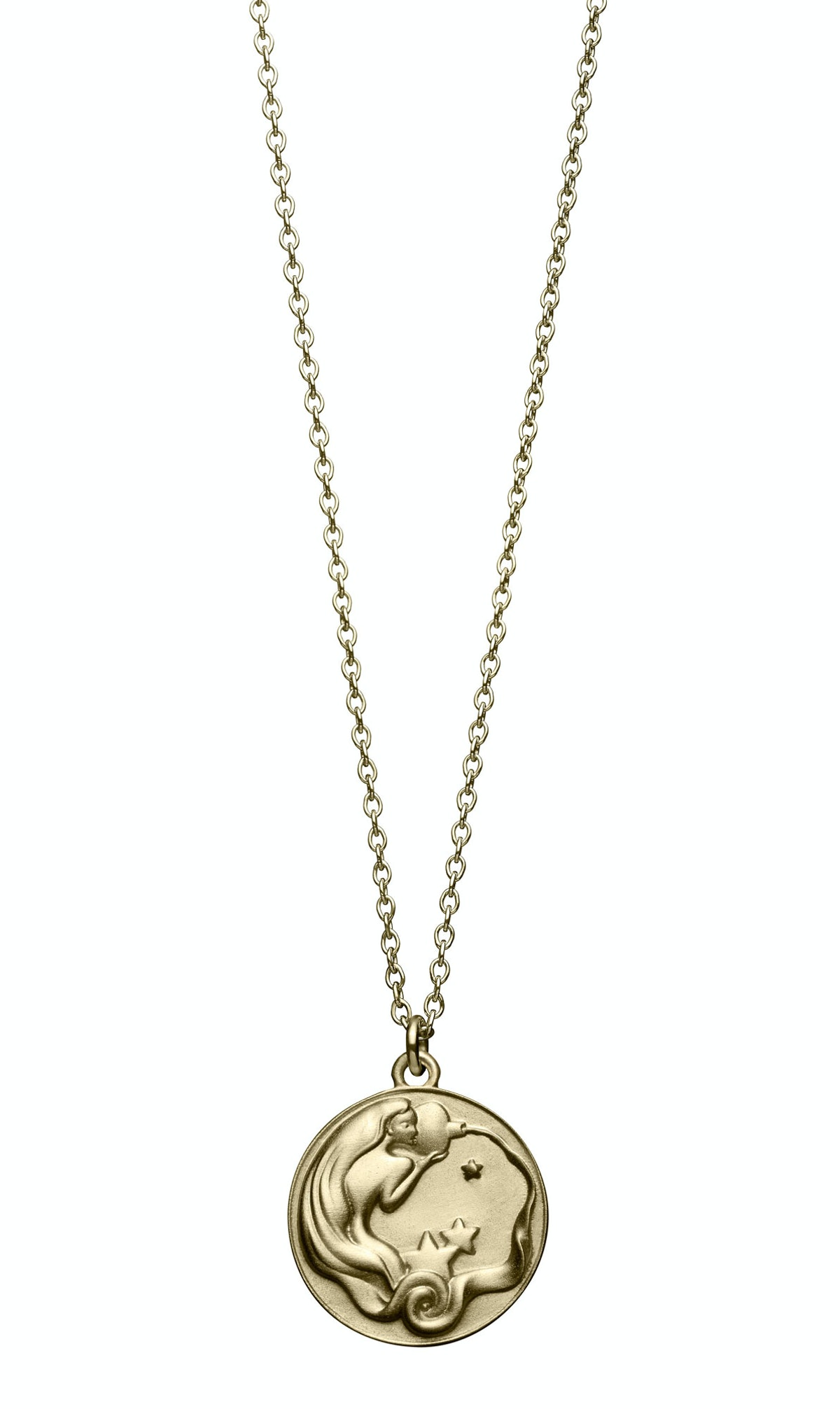 __For the earthy girl:__ Minor Obsessions by Finn 10k gold Zodiac necklaces (Aquarius shown), $995 e...