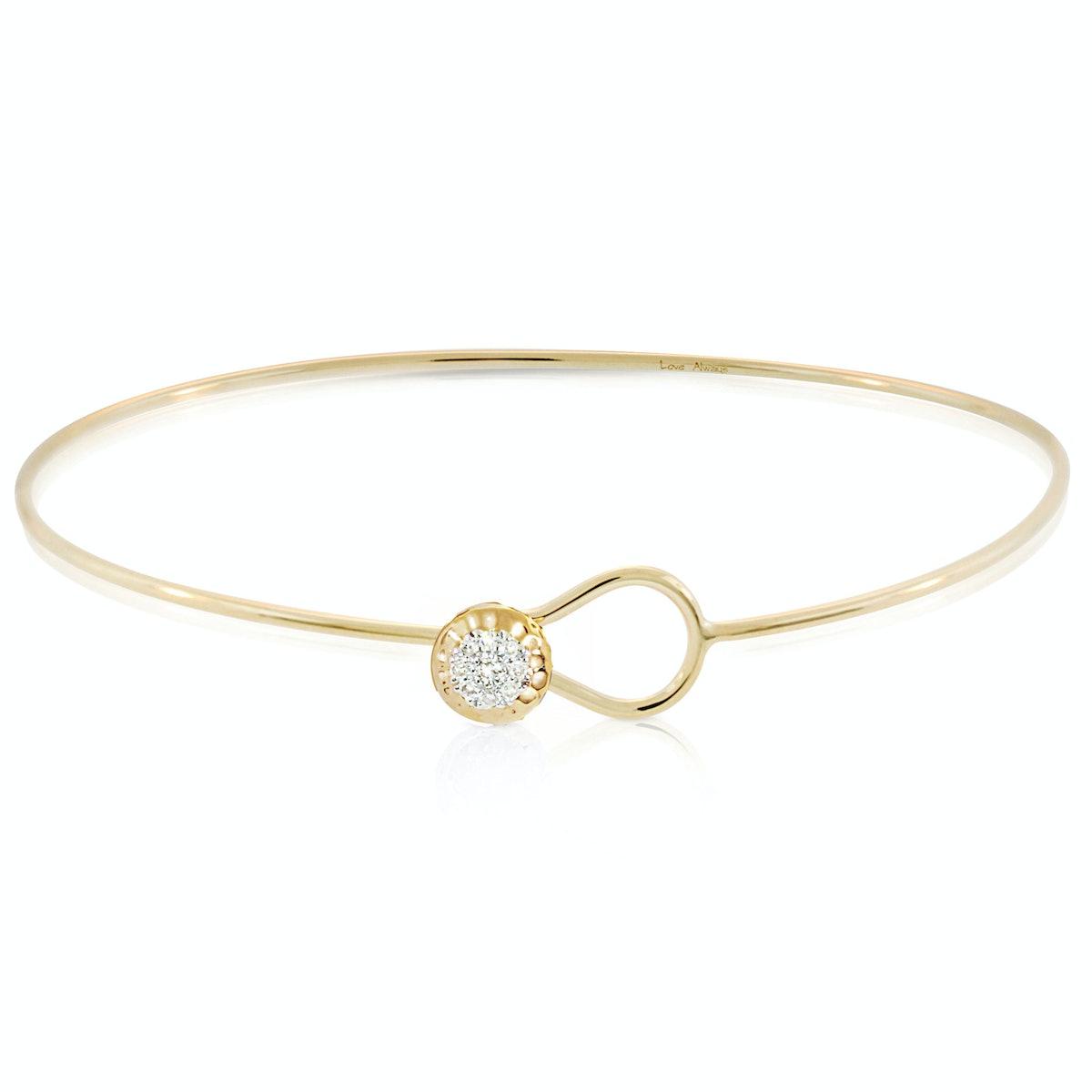 __For the romantic:__ Phillips House YG Diamond Wire Love Always Bracelet, $950, saksfifthavenue.com...