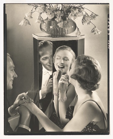 Edward Steichen, *Ad for Coty Lipstick*, (c. 1930). Whitney Museum of American Art, New York; © Perm...