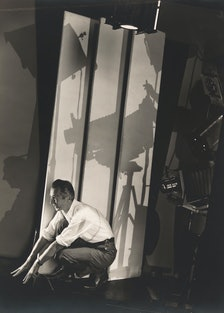 Edward Steichen, *Self Portrait with Photographer's Paraphenalia*,1929. Whitney Museum of American A...