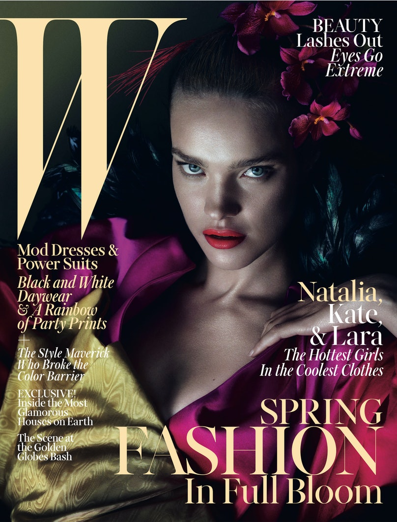 Natalia Vodianova March 2013 W Magazine