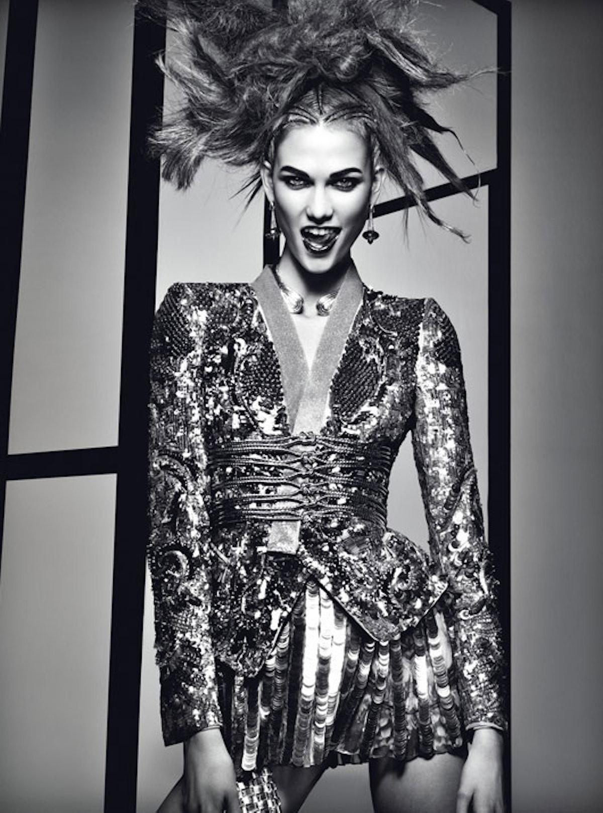 "Up the ante à la Karlie Kloss in April 2012's ""[Drama Queen](http://www.wmagazine.com/fashion/featur..."