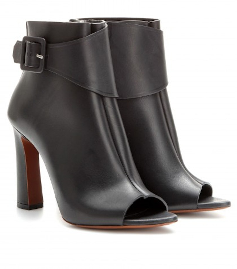 P00089216-Leather-open-toe-ankle-boots--STANDARD