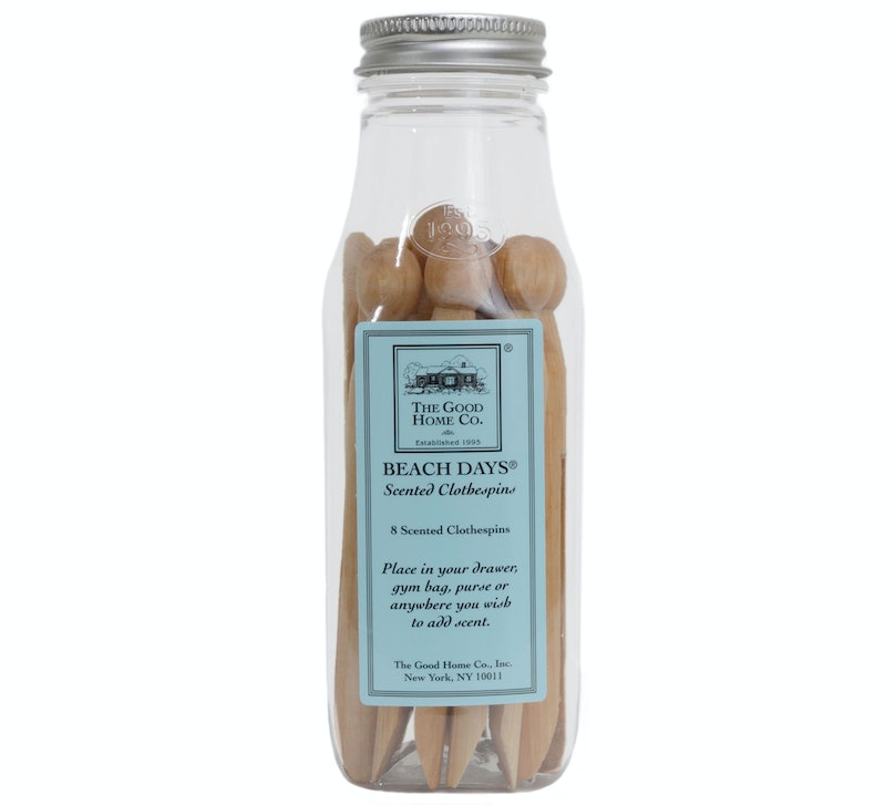 The Good Home Beach Days Scented Clothespins, $12, [goodhomestore.com](http://www.goodhomestore.com/0064be.html)