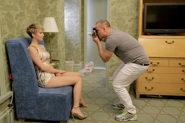 Jennifer Lawrence and Juergen Teller.