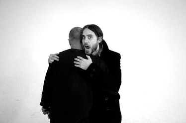 Juergen Teller and Jared Leto.
