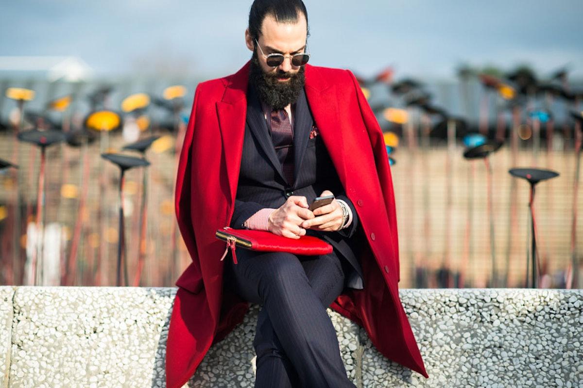 Pitti Uomo Fall 2014 Street Style Day 3.