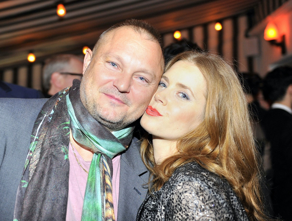 Juergen Teller and Amy Adams. Photo by Getty Images.