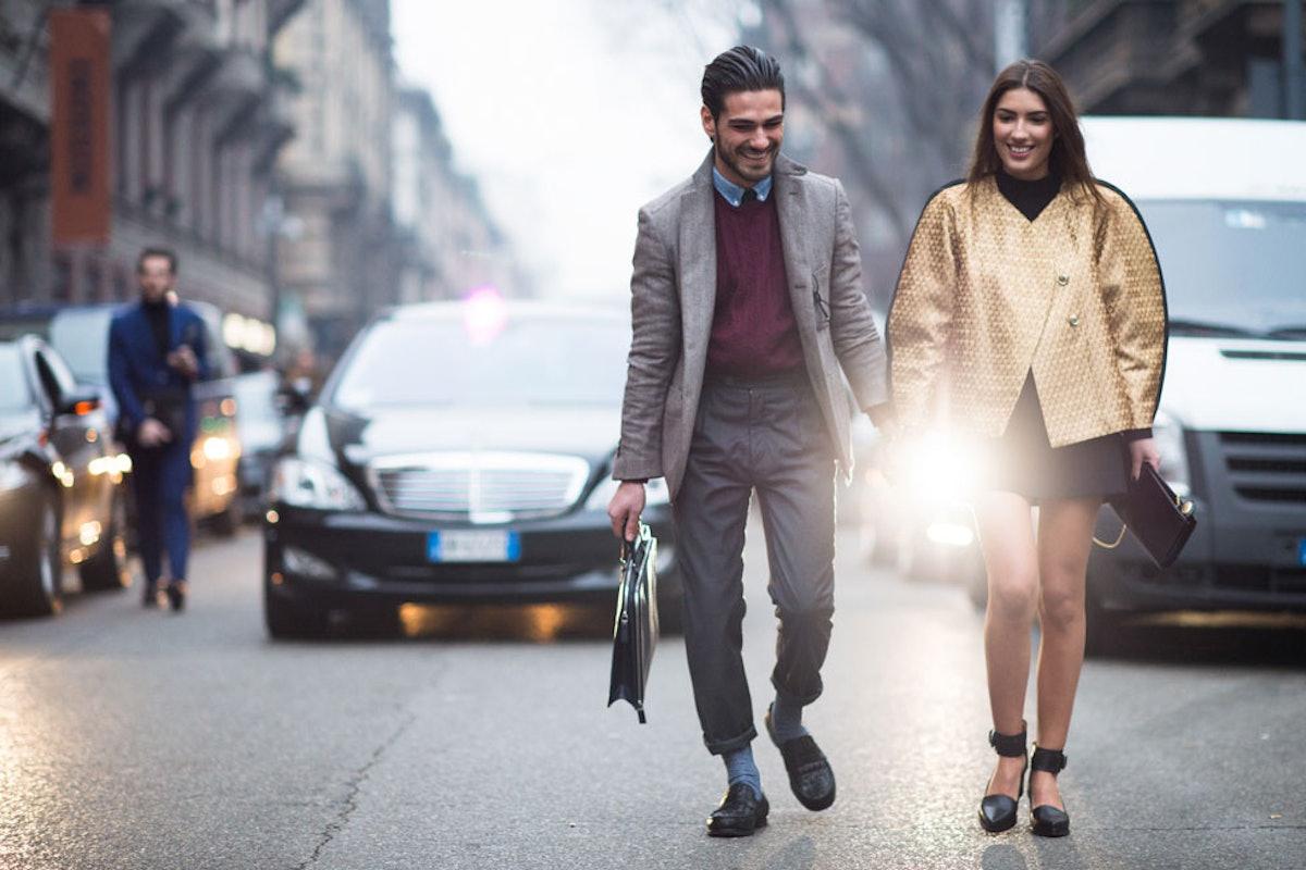 Milan Men's Fashion Week Fall 2014 Street Style Day 2.