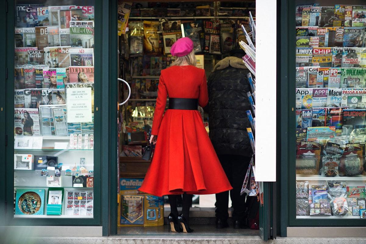 Milan Men's Fashion Week Fall 2014 Street Style Day 3.
