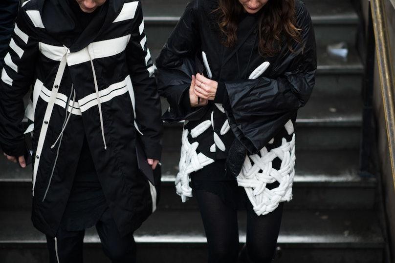 Paris Men's Fashion Week Fall 2014 Street Style Day 1.