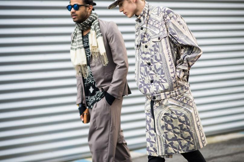 Paris Men's Fashion Week Fall 2014 Street Style Day 2.