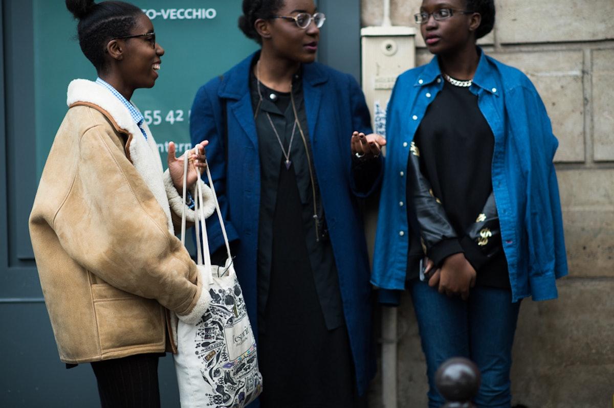 Paris Men's Fashion Week Fall 2014 Street Style Day 4.