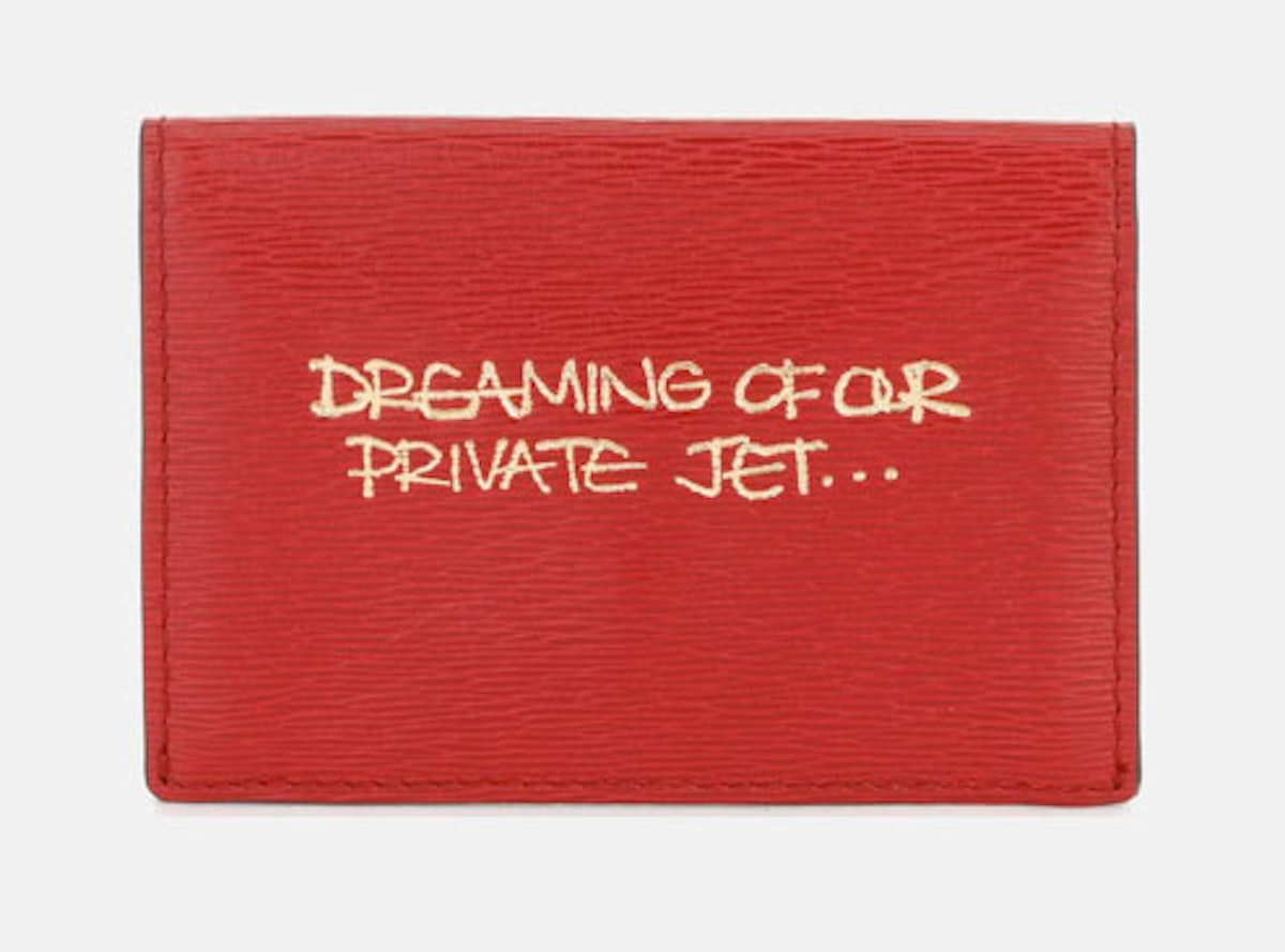 A nine-hour flight and four-hour drive will make me dream of a private plane, but this Anya Hindmarc...
