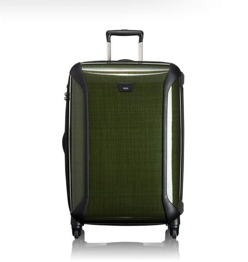 I always say that I am going to pack light, but I always bring gifts for my 50 cousins and friends, and, on the return trip stuff my almost empty suitcase with Mexican candies. Tumi medium trip packing case, $595 to $795, [tumi.com](http://www.tumi.com/product/index.jsp?productId=12550123&prodFindSrc=search).