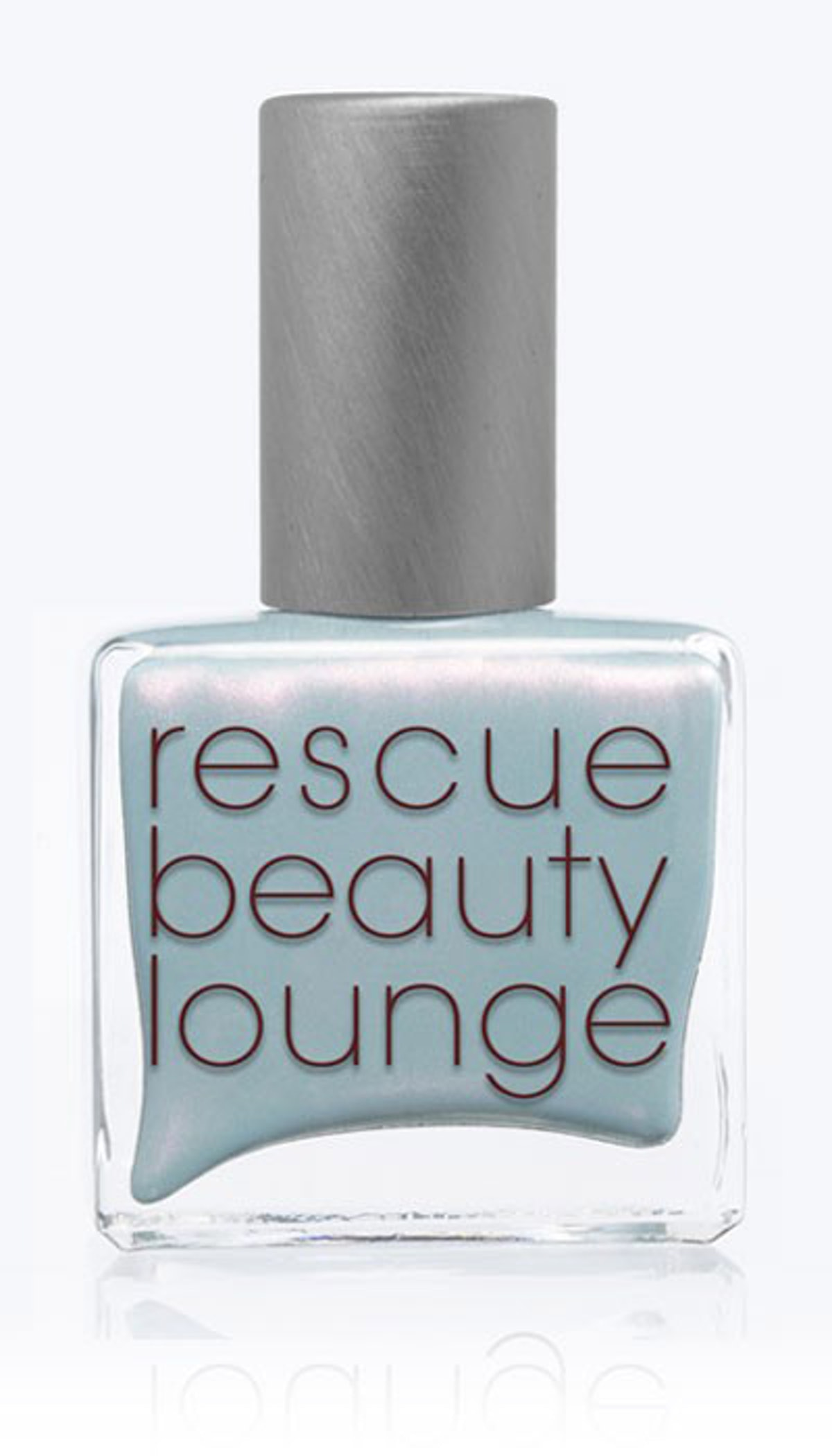 __Rescue Beauty Lounge Nail Polish in Réveillon__ ($20, [rescuebeauty.com](http://www.rescuebeauty.com/index.php/revellion.html)): This icy blue- gray is the ideal counterpoint to Herrera's warm citrus ensemble.