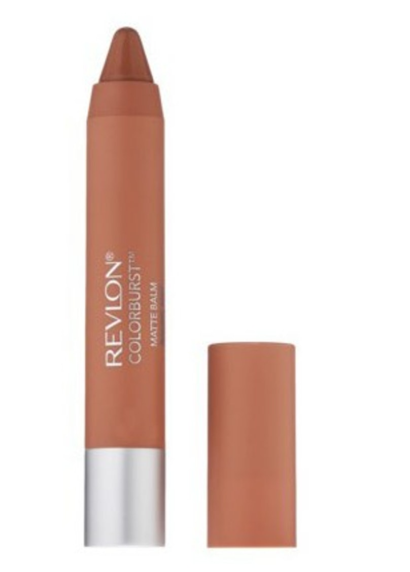 __Revlon Colorburst Matte Balm in Complex__ ($9, [revlon.com](http://rstyle.me/n/ekbmi3w3n)): Despite a trendy matte finish, it leaves lips soft and smooth.