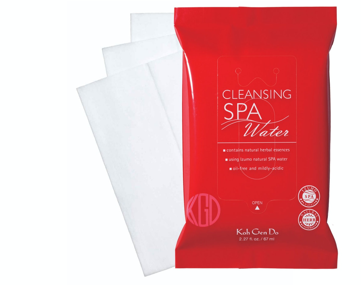 __Face Cleanser:__ Ko Gen Doh Cleansing Spa Water Cloths, $39 for three pack, [sephora.com](http://r...