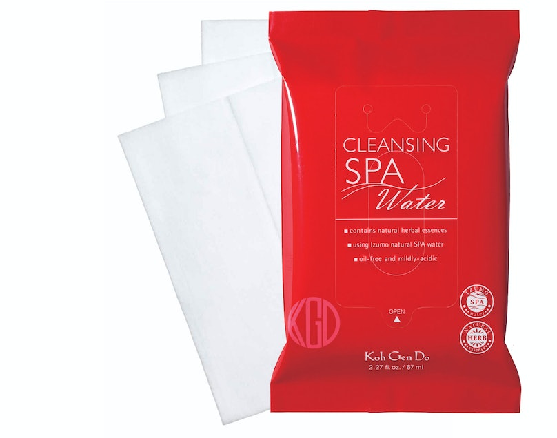 __Face Cleanser:__ Ko Gen Doh Cleansing Spa Water Cloths, $39 for three pack, [sephora.com](http://rstyle.me/n/c9j4435fn)