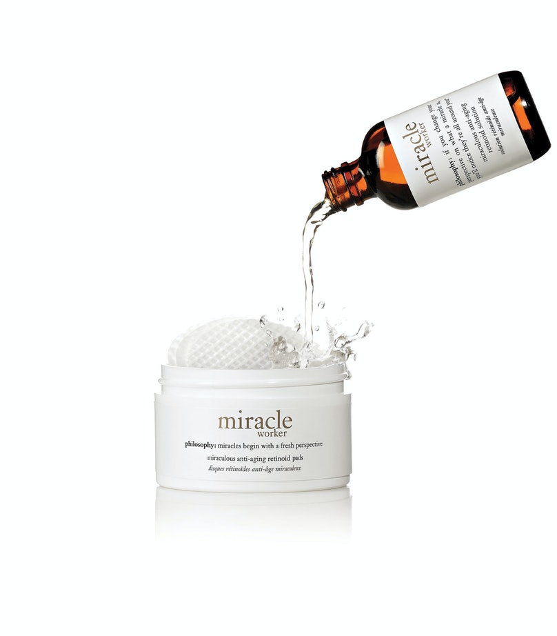__Anti Aging:__ Philosophy Miracle Worker Miraculous Anti-Aging Retinoid Pads, $73, [philosophy.com](http://rstyle.me/n/j56a35fn)