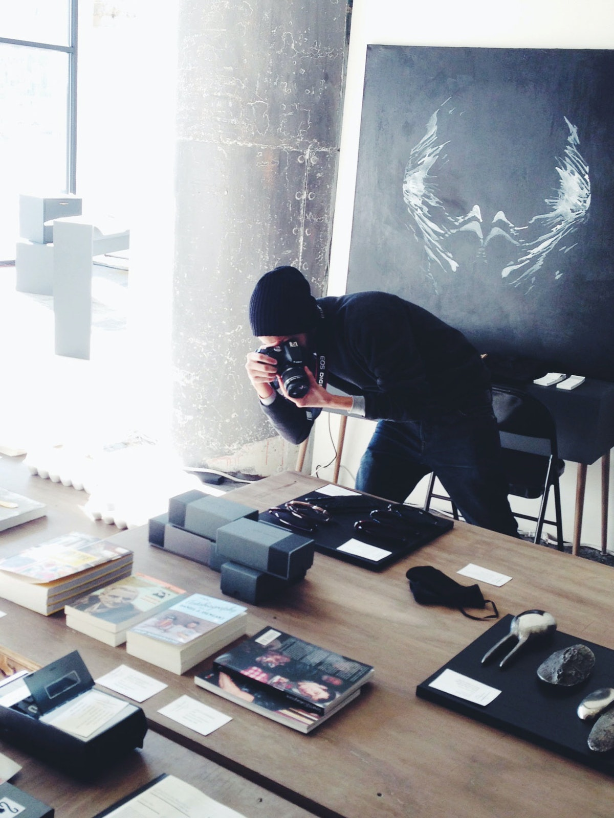 Inside Hotel Particulier's curated shop.