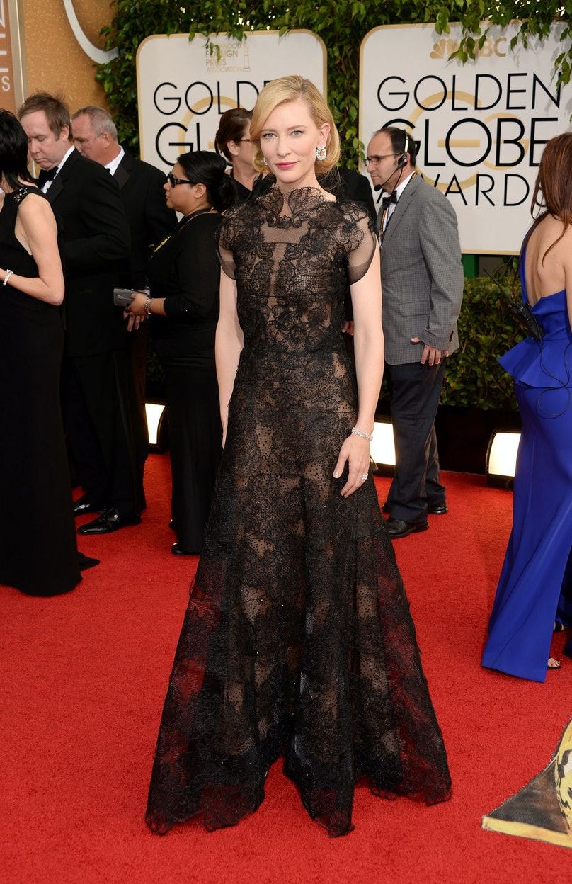 [Cate Blanchett](http://www.wmagazine.com/mood-board/filter?q=%5ECelebrity%7CCate%20Blanchett%7C) is no stranger to our best-dressed roster. Her regal take on this black lace dress by Armani Privé won our vote at the [Golden Globes](http://www.wmagazine.com/people/best-dressed/2014/01/golden-globes-best-dressed/photos/).