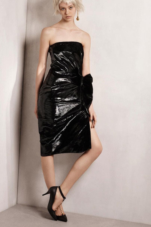 __[Lanvin](http://www.wmagazine.com/mood-board/filter?q=^Designer Lanvin ):__ I love the hint of [metallic](http://www.wmagazine.com/mood-board/filter?q=^Trend Metallic ) in this elegant black strapless dress.       Photo courtesy of the designer.