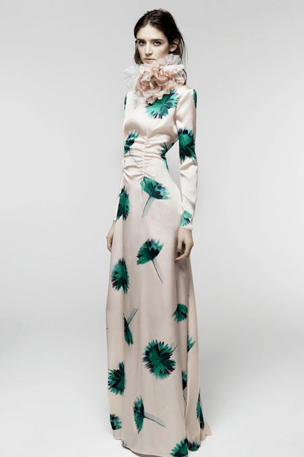 __[Nina Ricci](http://www.wmagazine.com/mood-board/filter?q=^Designer|Nina%20Ricci|):__ I think more people should wear both long sleeves and prints on the red carpet; this gown feels so new and different compared to the mermaid numbers we're used to seeing.      Photo courtesy of the designer.