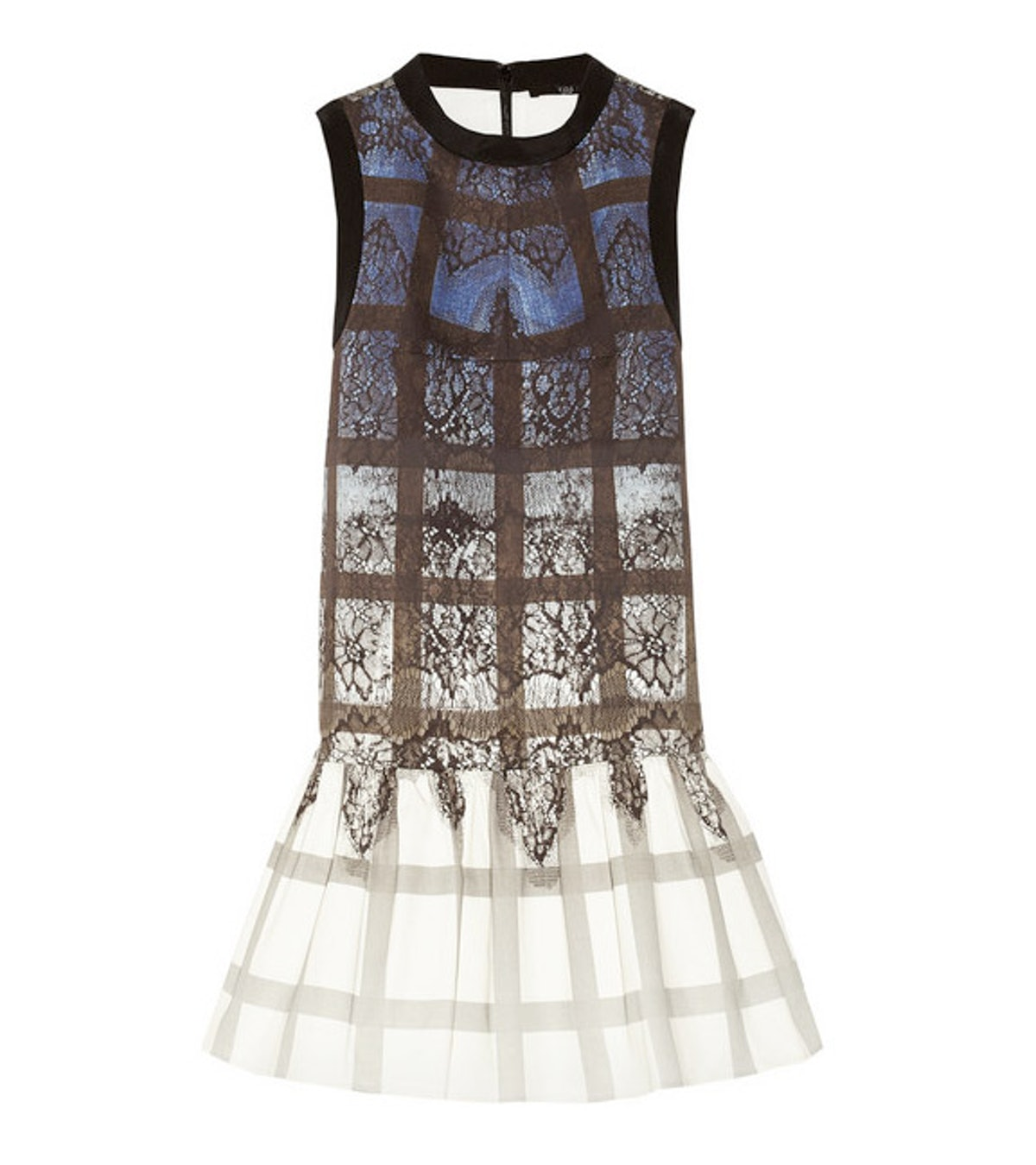 A good cocktail dress is a must during fashion week— this number can go from day to night with ease. *Tibi printed stretch-cotton mini dress, $435, [net-a-porter.com](http://www.net-a-porter.com/product/408713).*