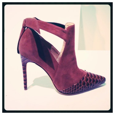 This western-style Alexandre Birman bootie is city ready in a jewel tone.