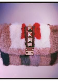 Color blocked fur at [Valentino](http://www.wmagazine.com/mood-board/filter?q=^Designer Valentino ):...