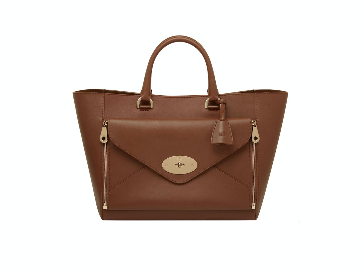 Mulberry bag, $2700, at [Mulberry](http://www.mulberry.com), New York, 646.669.8380.