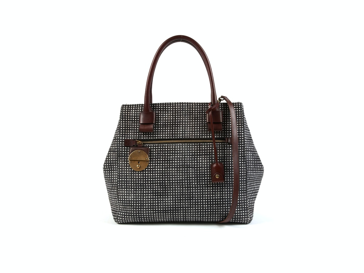 Marc Jacobs bag, $3495, at [Marc Jacobs](http://www.marcjacobs.com) stores, 877.707.6272.