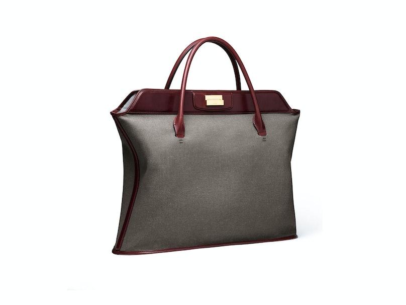 The Row bag, $1950, [barneys.com](http://www.barneys.com/on/demandware.store/Sites-BNY-Site/default/Home-Show).