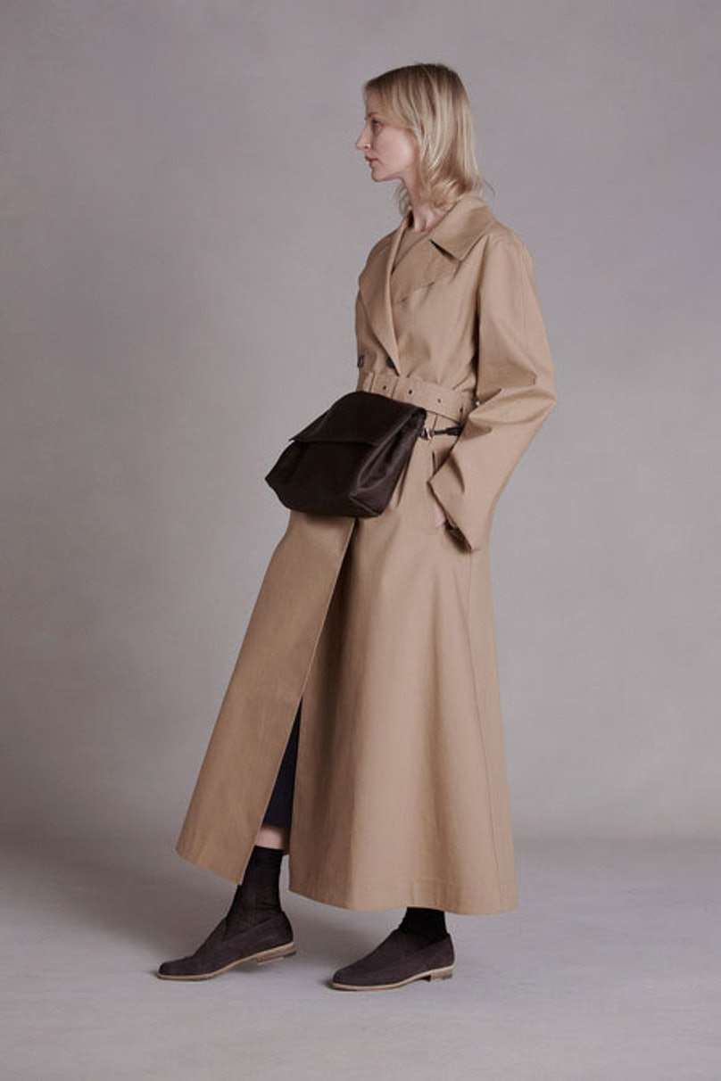 __[The Row](http://www.wmagazine.com/mood-board/filter?q=^Designer|The%20Row|):__ This ankle-length trench seems so fresh and effortless; it's perfect for a modern day Annie Hall.