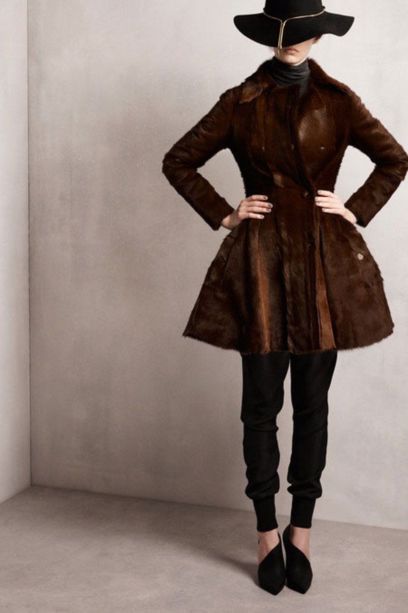 __[Lanvin](http://www.wmagazine.com/mood-board/filter?q=^Designer|Lanvin|):__ This chocolate-colored fur is so inspiring; I would wear it just about everywhere.      Photo courtesy of the designer.